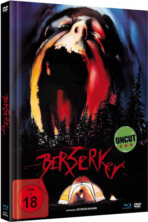 Berserker - Limited Mediabook Edition [Blu-ray+DVD]