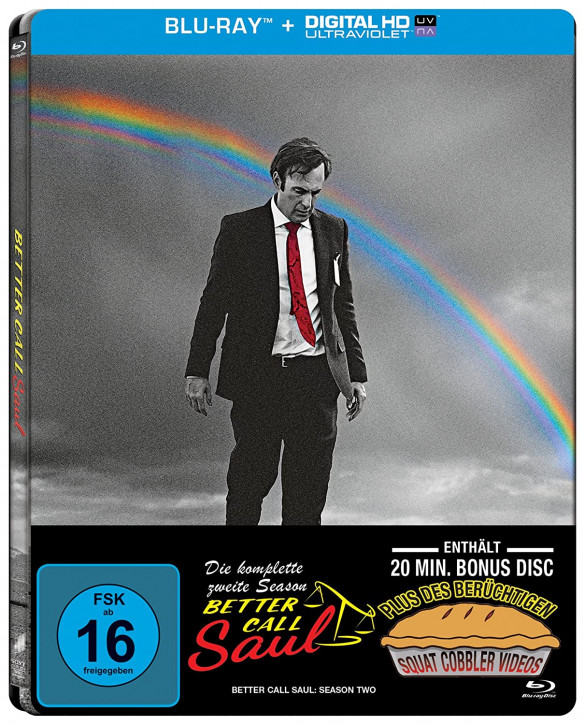 Better Call Saul - Die komplette zweite Staffel - Steelbook [Blu-ray]