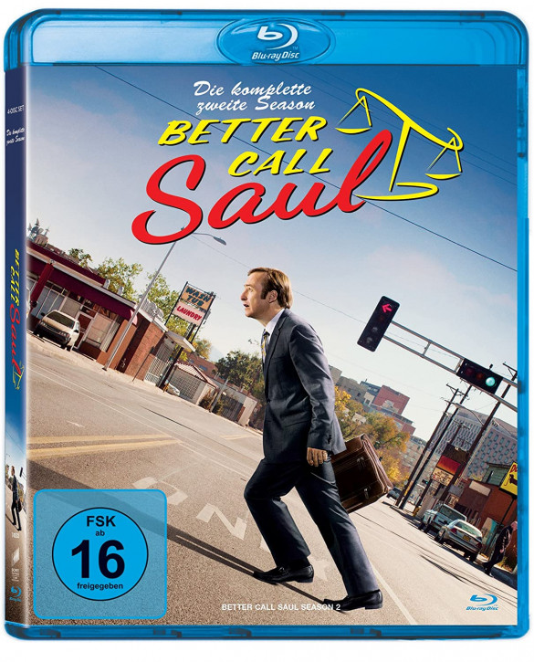 Better Call Saul - Die komplette zweite Staffel [Blu-ray]