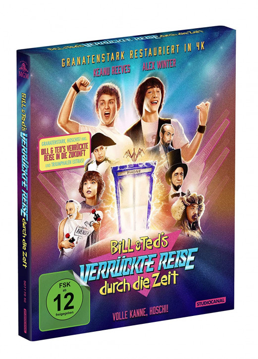 Bill & Teds verrückte Reise durch die Zeit & in die Zukunft - Limited Collector's Edition [Blu-ray]