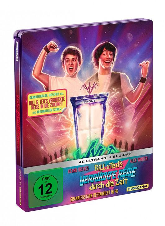 Bill & Teds verrückte Reise durch die Zeit & in die Zukunft - Steelbook [4K UHD+Blu-ray]