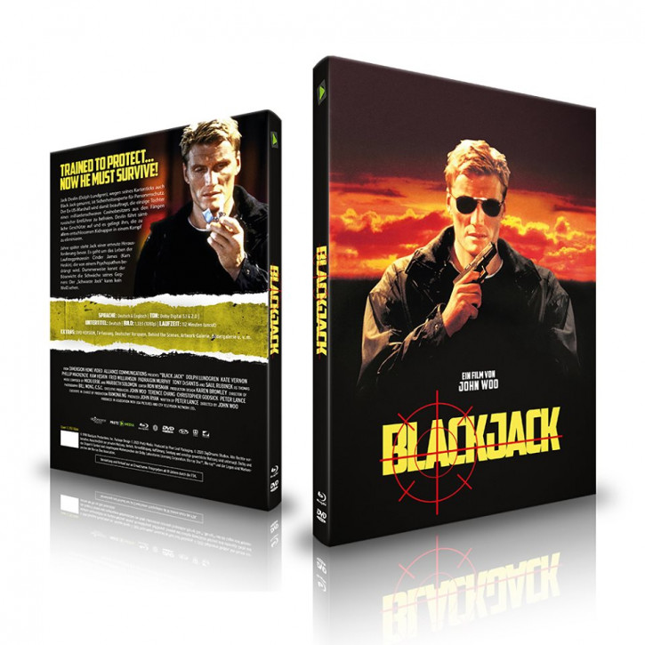 Blackjack - Limited Mediabook - Cover C [Blu-ray+DVD]