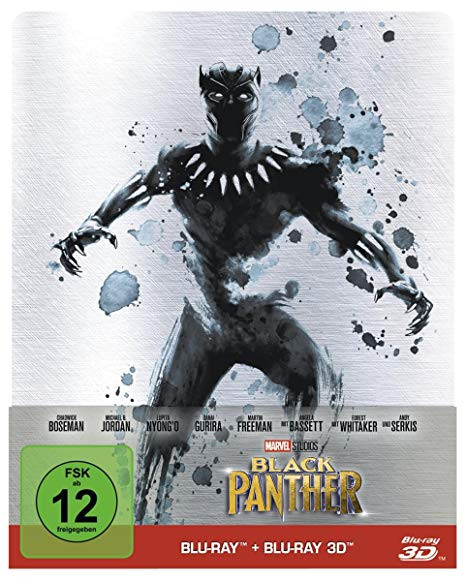 Black Panther - Steelbook [Blu-ray]