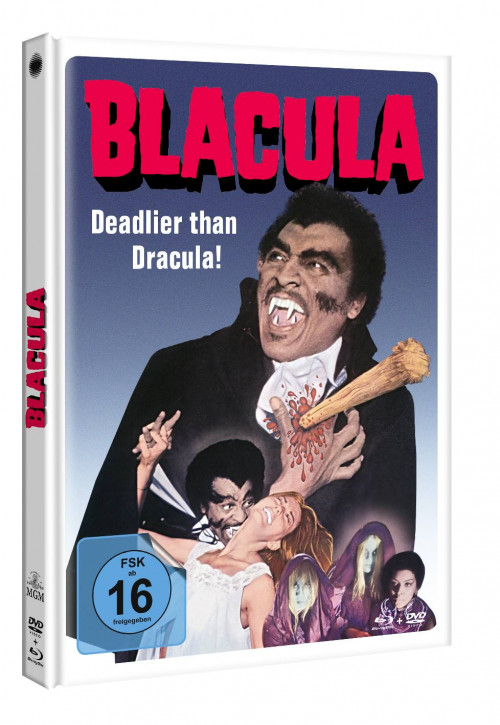 Blacula - Limited Mediabook Edition [Blu-ray]