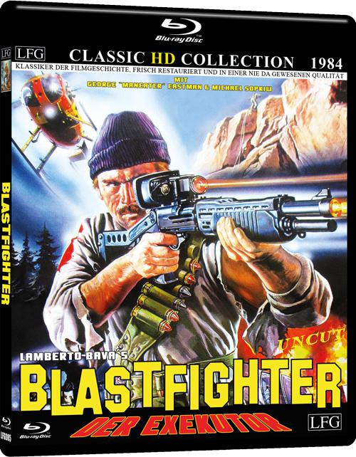 Blastfighter (Classic HD Collection #4) [Blu-ray]