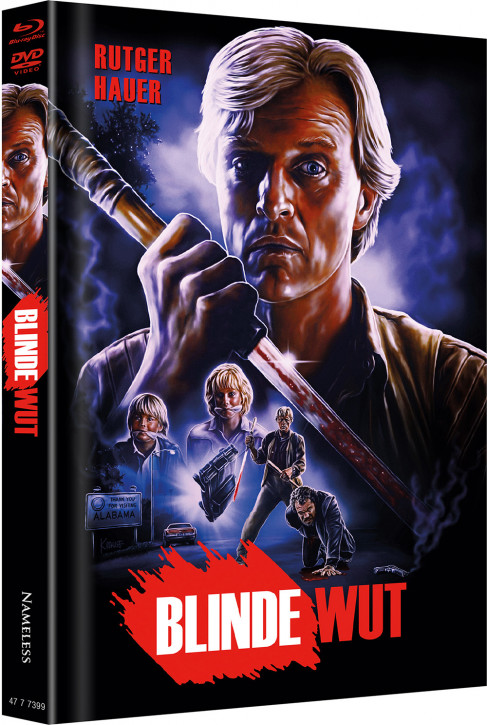 Blinde Wut - Limited Mediabook Edition - Cover A [Blu-ray+DVD]