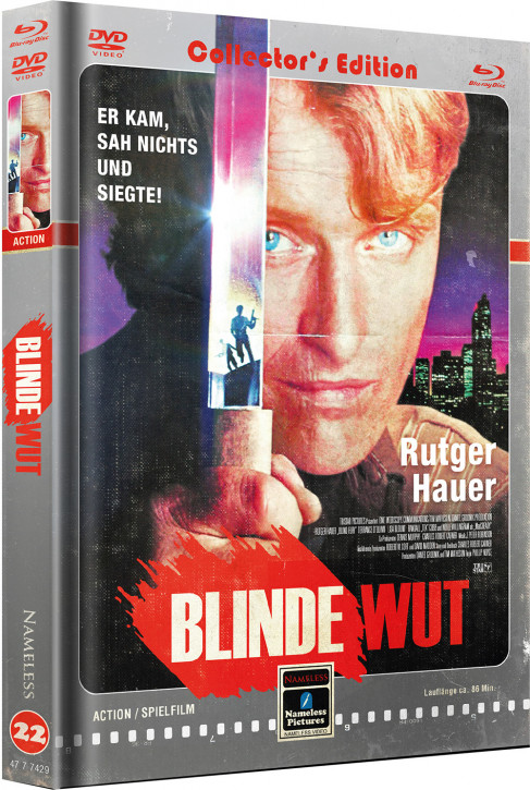 Blinde Wut - Limited Mediabook Edition - Cover D [Blu-ray+DVD]