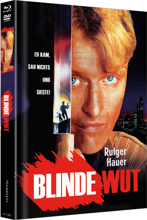 Blinde Wut - Limited Mediabook Edition - Cover E [Blu-ray+DVD]
