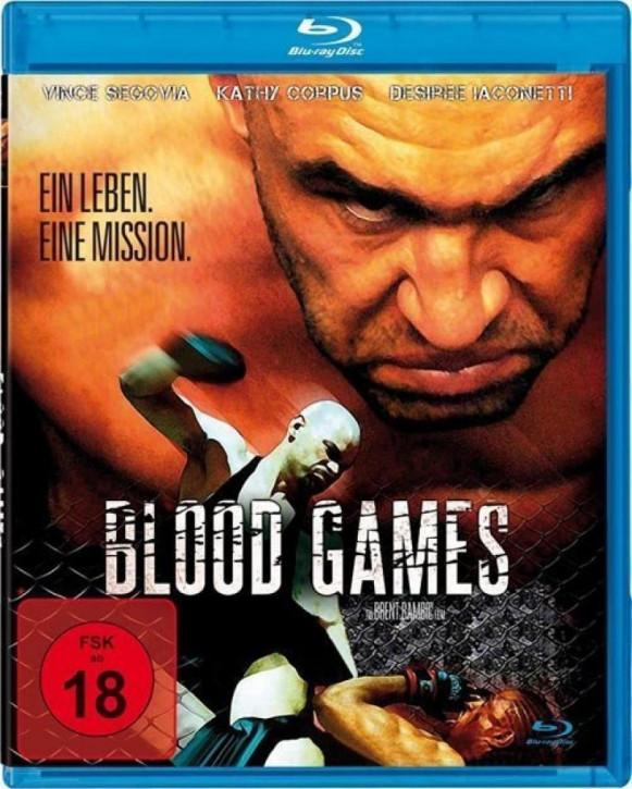 Blood Games - Ein Leben. Eine Mission. [Blu-ray]