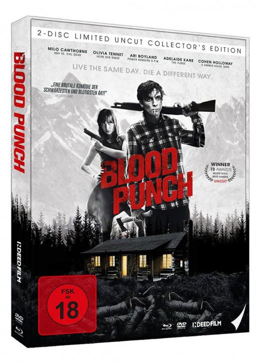 Blood Punch - Und täglich grüßt der Tod - Limited Mediabook Edition [Blu-ray+DVD]