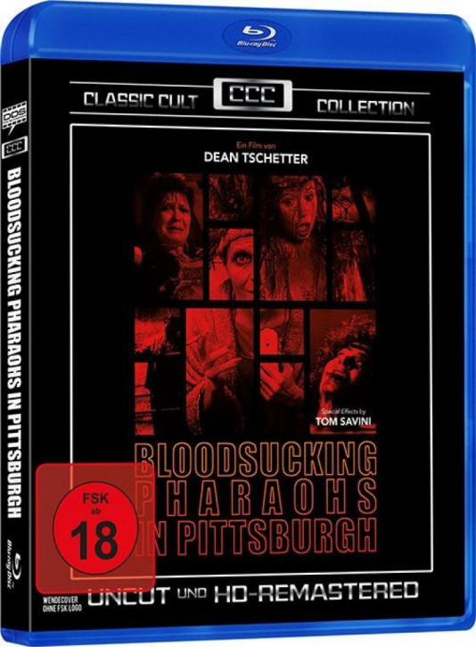 Bloodsucking Pharaohs in Pittsburgh (Classic Cult Collection) [Blu-ray]