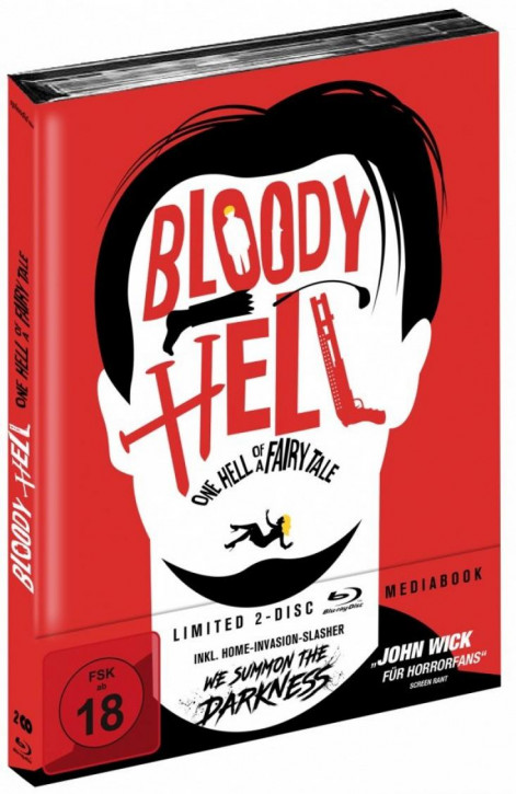 Bloody Hell - One Hell of a Fairy Tale - Limited Mediabook Edition [Blu-ray]