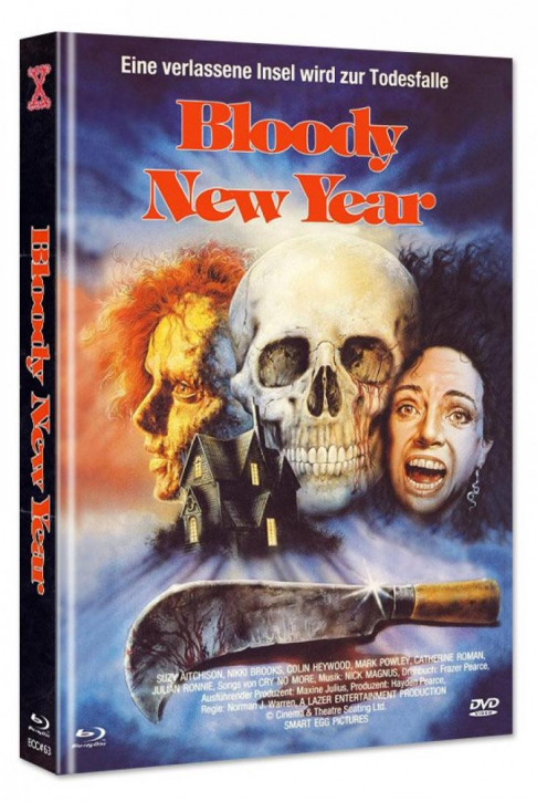 Bloody New Year - Eurocult Collection #063 - Mediabook - Cover A [Blu-ray+DVD]