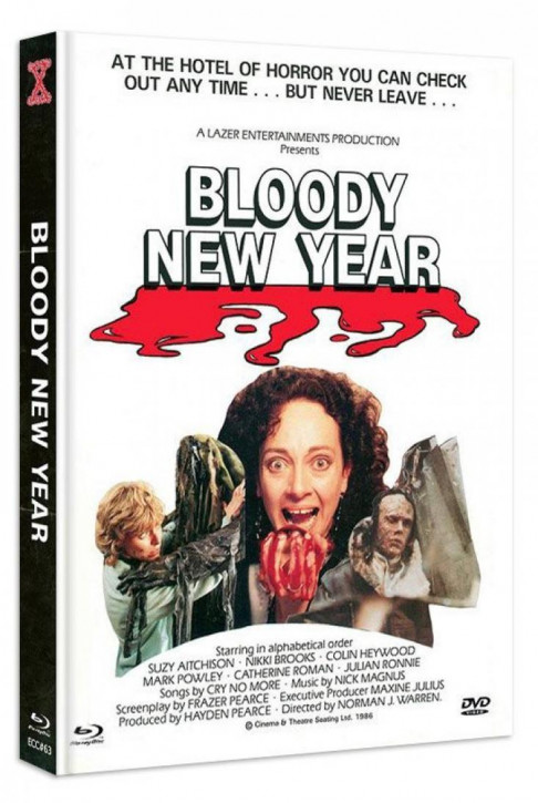 Bloody New Year - Eurocult Collection #063 - Mediabook - Cover B [Blu-ray+DVD]