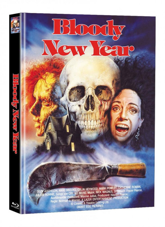 Bloody New Year - Limited Mediabook Edition (Super Spooky Stories #126) [Blu-ray]