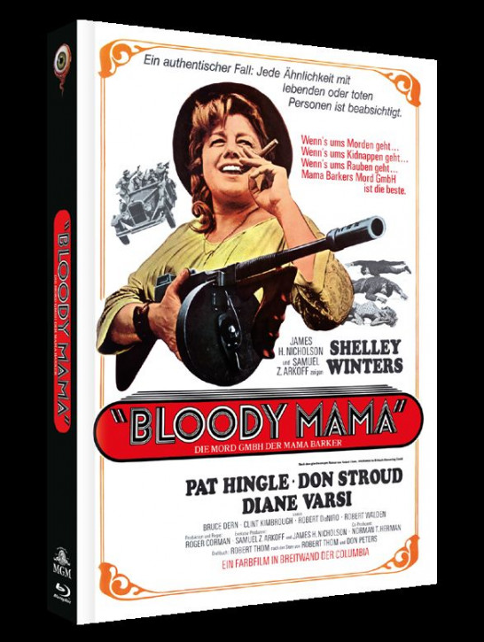 Bloody Mama - Limited Collectors Edition - Cover A [Blu-ray+DVD]