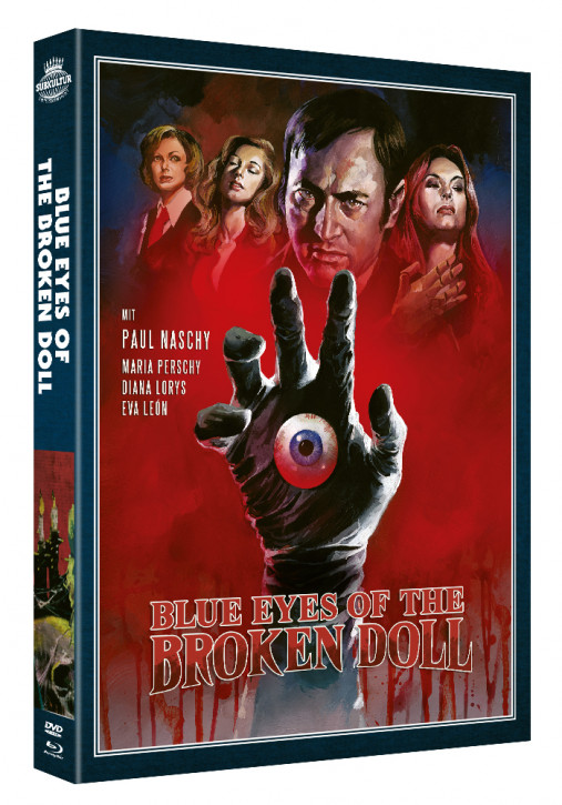 Blue Eyes of the Broken Doll - Paul Naschy - Legacy of a Wolfman #9 [Blu-ray+DVD]