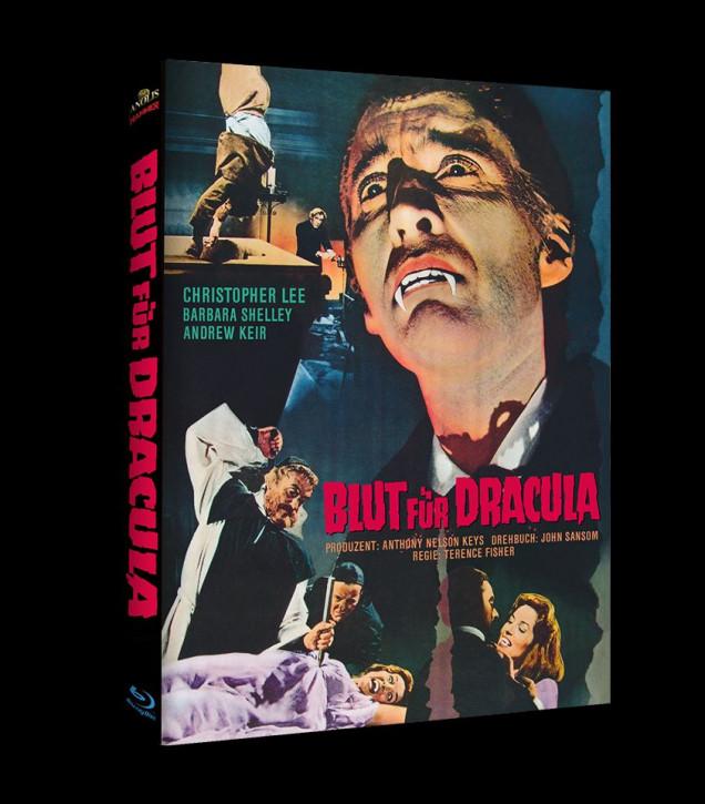 Blut für Dracula - Hammer Edition Nr. 31 - Cover C [Blu-ray]