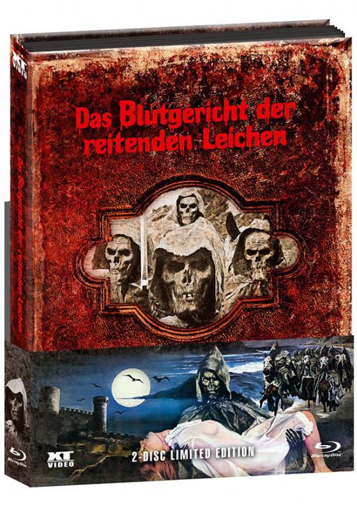 Blutgericht der reitenden Leichen - Limited wattiertes Mediabook [Blu-ray+DVD]