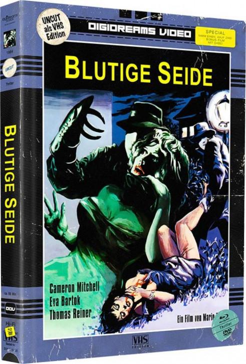 Blutige Seide - Limited Mediabook VHS Edition [Blu-ray+DVD]