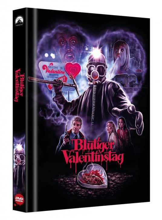 Blutiger Valentinstag - Limited Collector's Edition - Cover B [DVD]