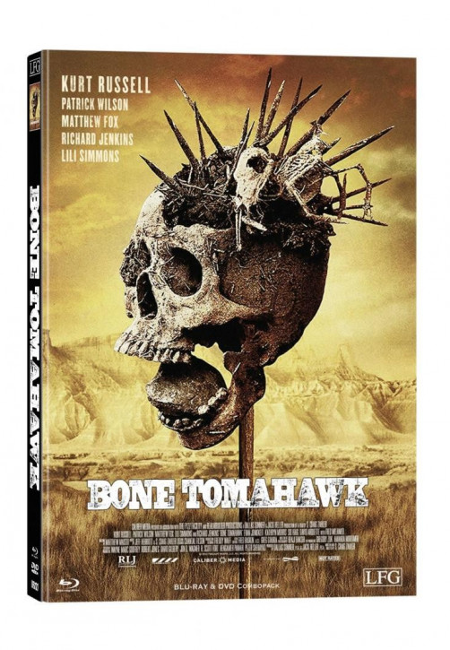 Bone Tomahawk - Limited Mediabook Edition - Cover A [Blu-ray+DVD]