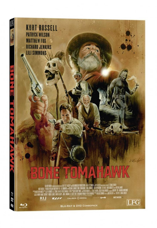 Bone Tomahawk - Limited Mediabook Edition - Cover F [Blu-ray+DVD]