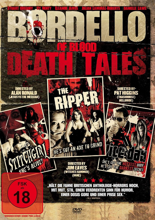 Bordello Of Blood Death Tales - [DVD]