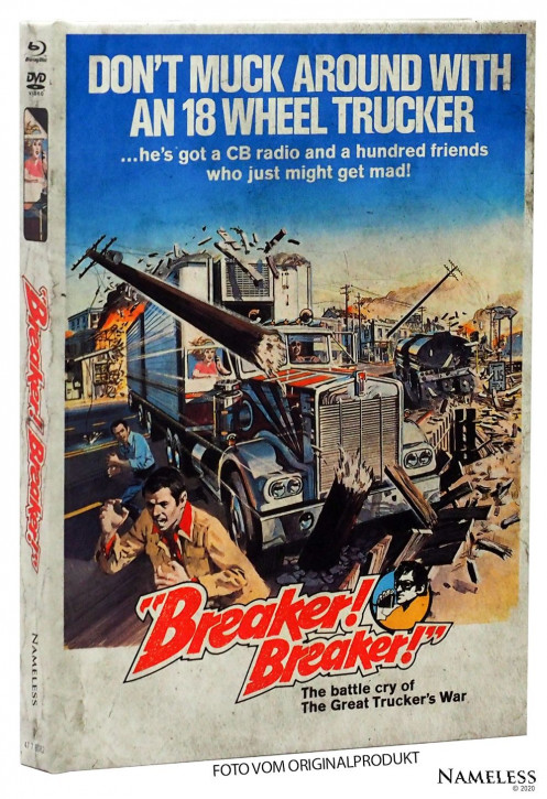 Breaker Breaker - Limited Mediabook - Cover A [Blu-ray+DVD]