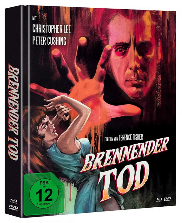 Brennender Tod - Limited Mediabook Edition - Cover A [Blu-ray+DVD]