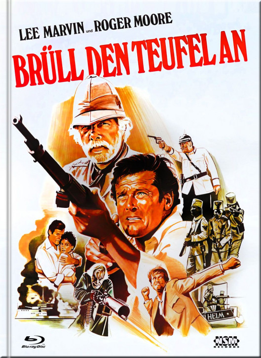 Brüll den Teufel an - Mediabook - Cover C [Blu-Ray+DVD]