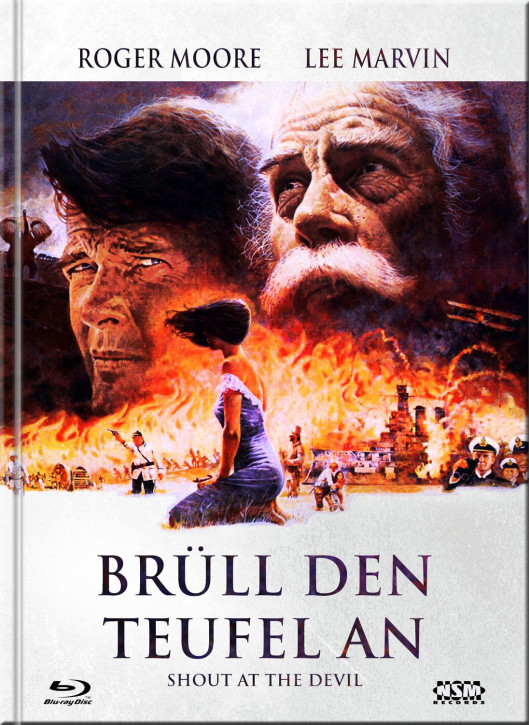 Brüll den Teufel an - Mediabook - Cover E [Blu-Ray+DVD]