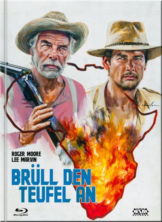 Brüll den Teufel an - Mediabook - Cover F [Blu-Ray+DVD]
