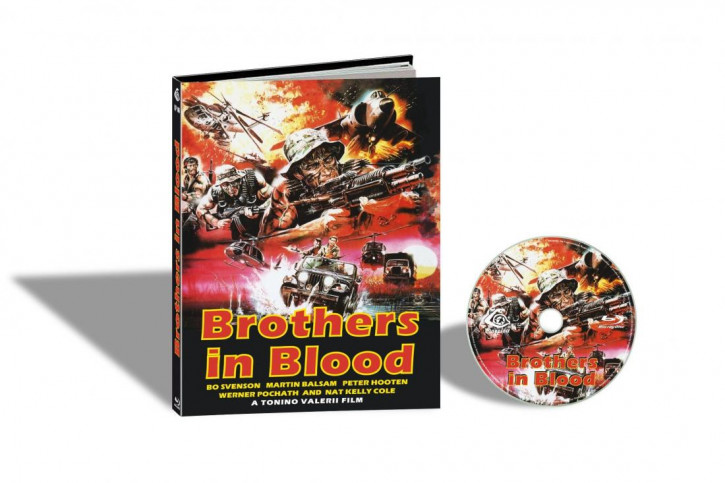Brothers in Blood (Savage Attack) - Limited Mediabook Edition - Cover A [Blu-ray]