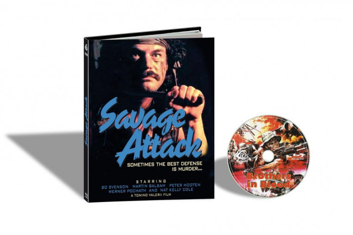 Brothers in Blood (Savage Attack) - Limited Mediabook Edition - Cover B [Blu-ray]