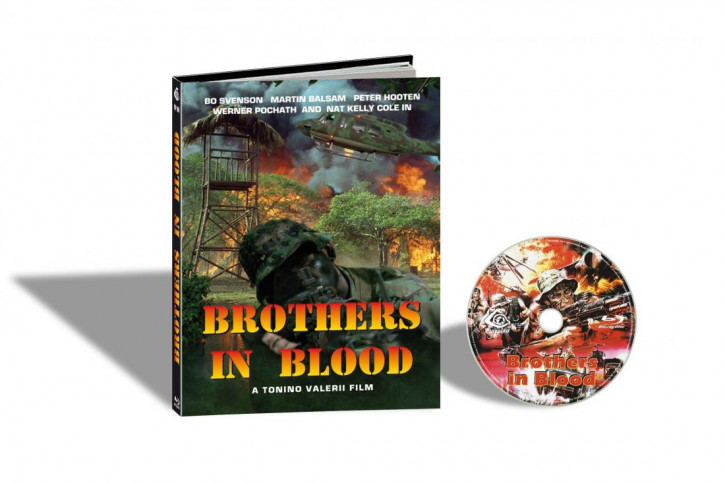 Brothers in Blood (Savage Attack) - Limited Mediabook Edition - Cover C [Blu-ray]