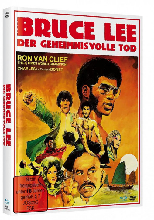 Bruce Lee - Der geheimnisvolle Tod - Mediabook - Cover A [Blu-ray+DVD]