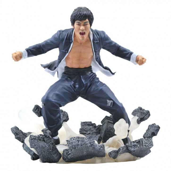 Bruce Lee - Gallery PVC Statue - Earth