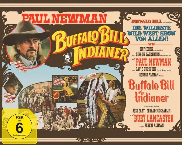 Buffalo Bill und die Indianer - Mediabook Edition [Blu-ray+DVD]