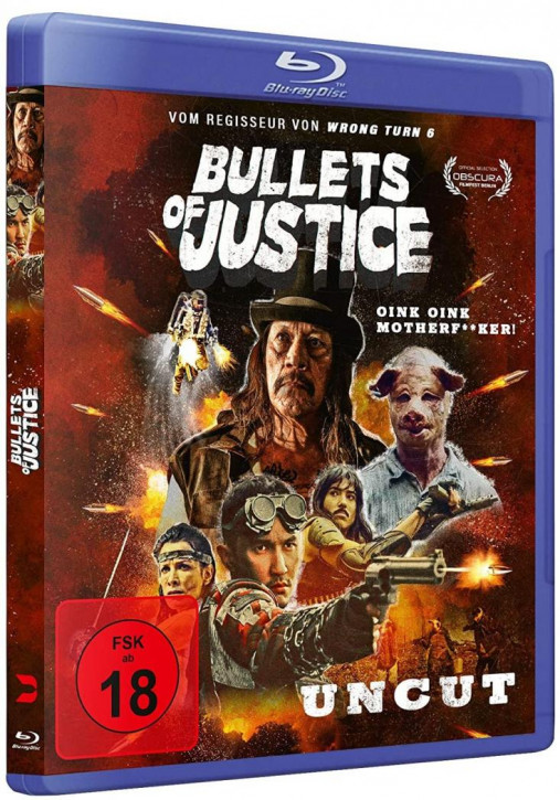 Bullets of Justice [Blu-ray]