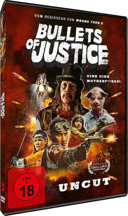 Bullets of Justice [DVD]
