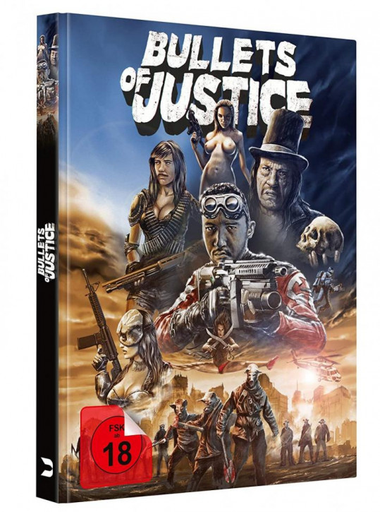 Bullets of Justice - Limited Mediabook Edition [Blu-ray+DVD]