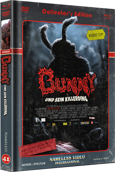 Bunny und sein Killerding - Limited Mediabook Edition - Cover C [Blu-ray+DVD]