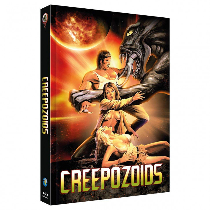 CREEPOZOIDS - Limited Collectors Edition Mediabook - Cover A [Blu-ray]