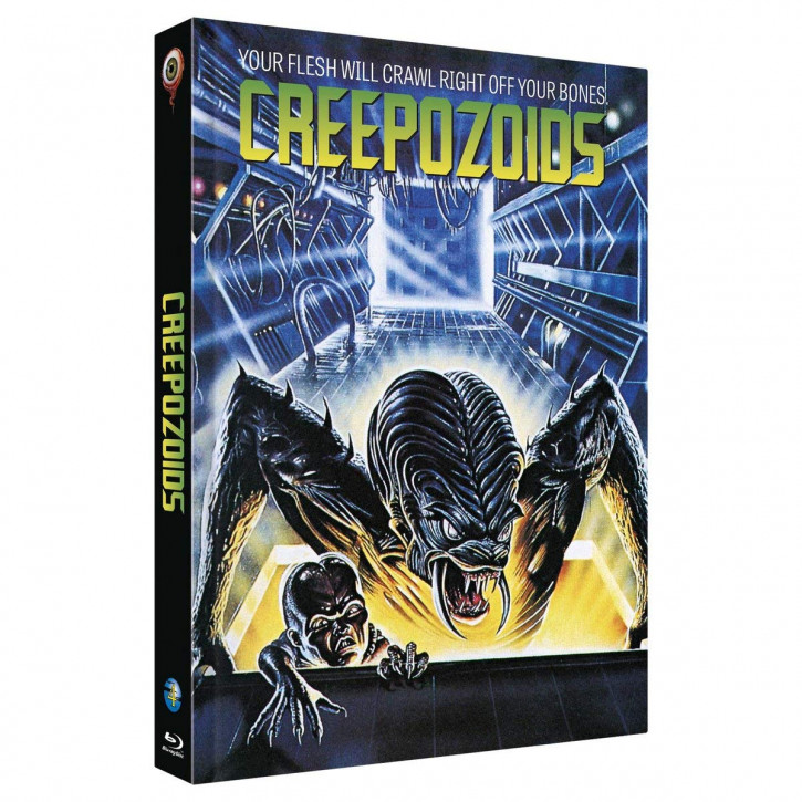 CREEPOZOIDS - Limited Collectors Edition Mediabook - Cover B [Blu-ray]
