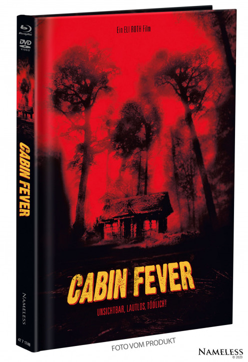Cabin Fever - Limited Mediabook - Cover A [Blu-ray+DVD]