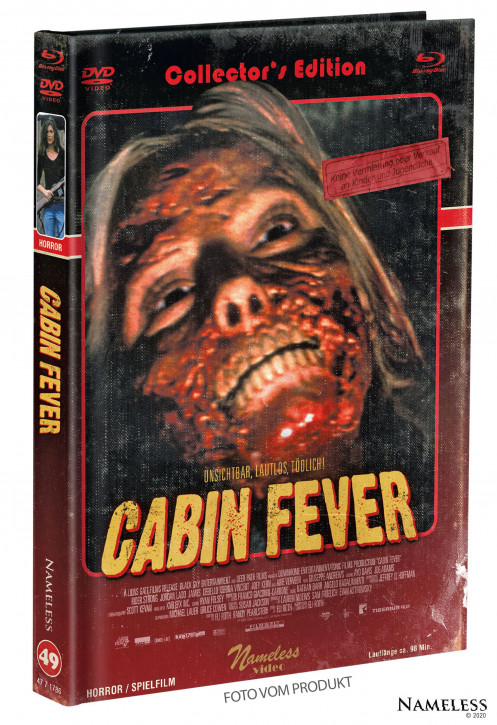 Cabin Fever - Limited Mediabook - Cover B [Blu-ray+DVD]