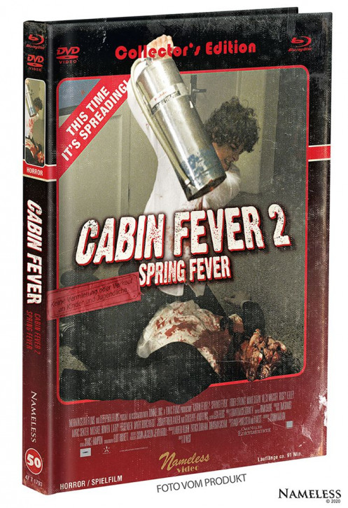 Cabin Fever 2 - Limited Mediabook - Cover B [Blu-ray+DVD]