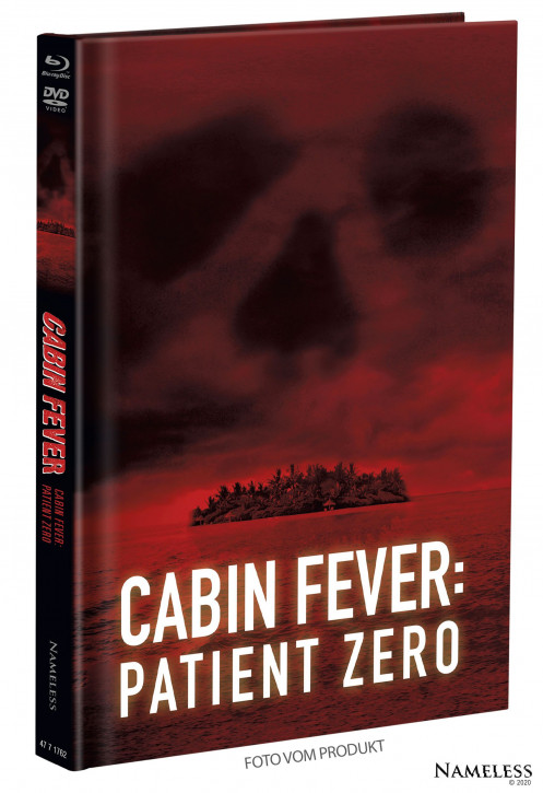 Cabin Fever 3 - Patient Zero - Limited Mediabook - Cover A [Blu-ray+DVD]