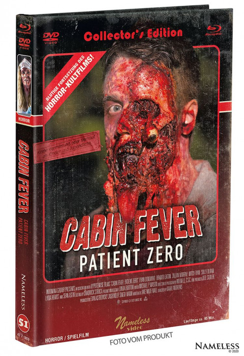 Cabin Fever 3 - Patient Zero - Limited Mediabook - Cover B [Blu-ray+DVD]